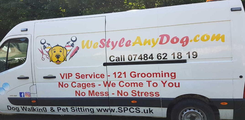 Mobile Dog Grooming Franchise Van